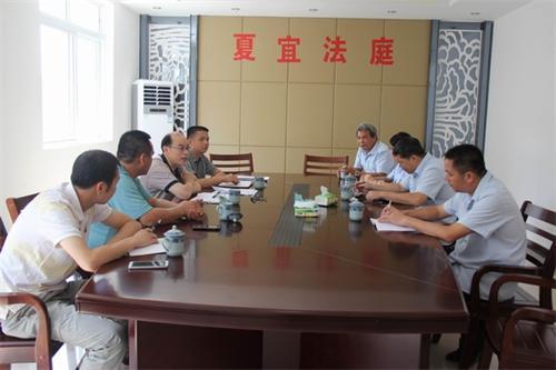 最高院副庭长,梧州市委常委,副市长杨永清到蒙山法院